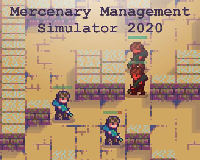 Mercenary Management Simulator 2020